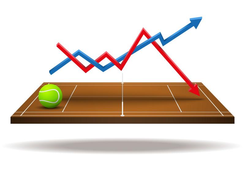 テニスボール グラフ