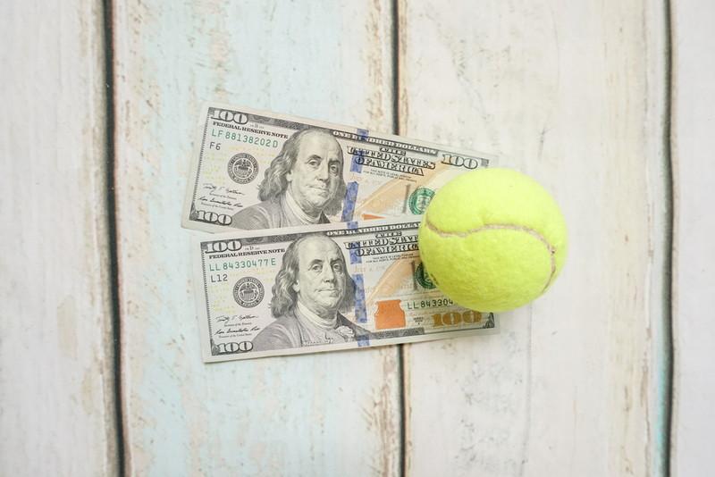 テニスに賭ける
