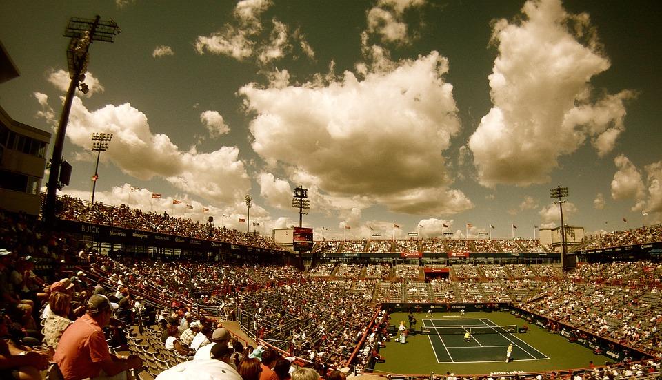 テニスの生観戦